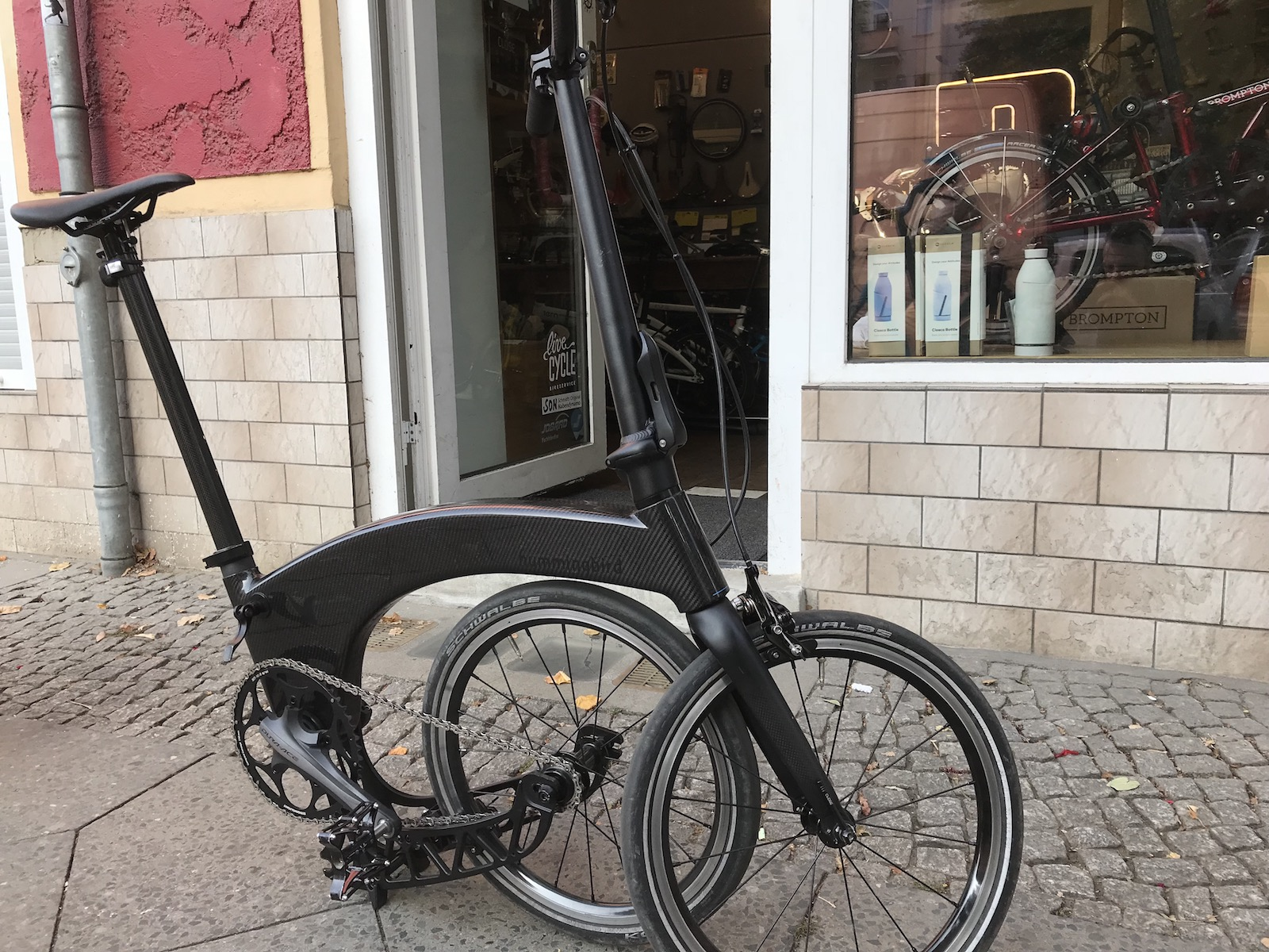 Boxbike Faltrad Shop Hummingbird Folding Bike Vorstellung 1