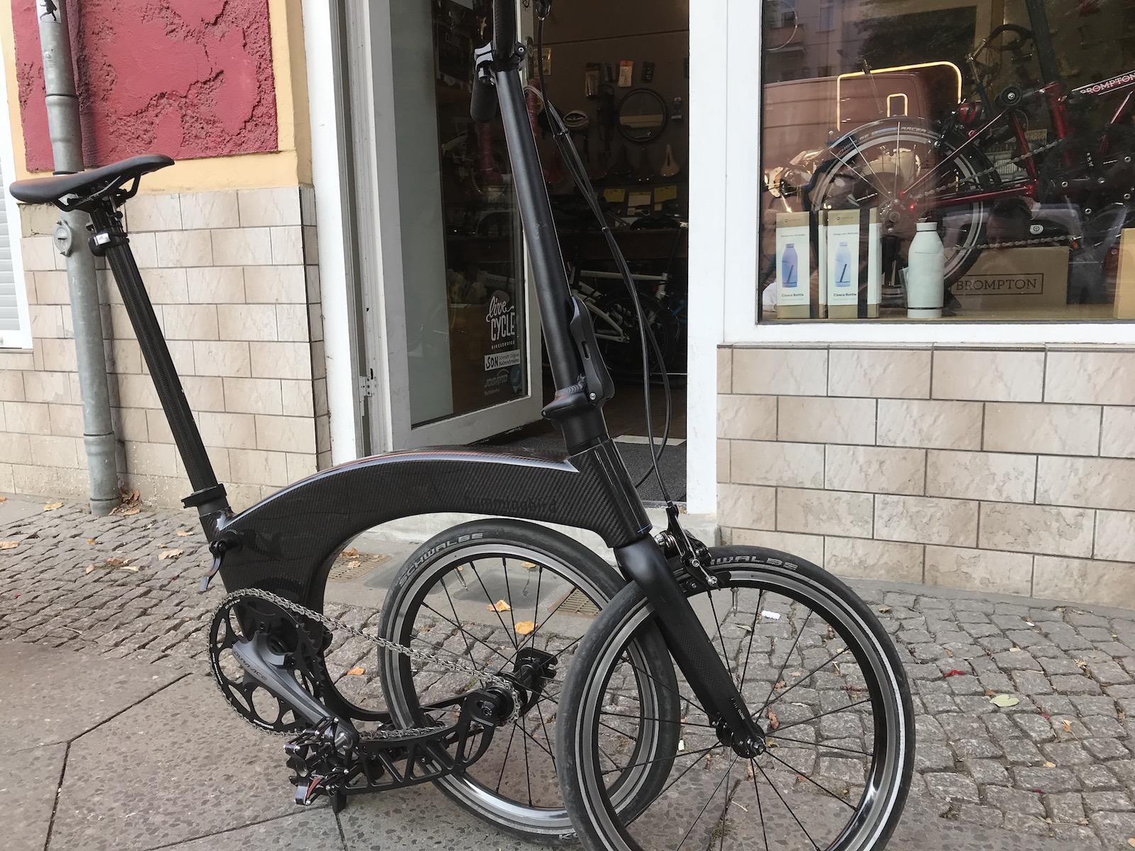 Boxbike Faltrad Shop Hummingbird Folding Bike Vorstellung 1