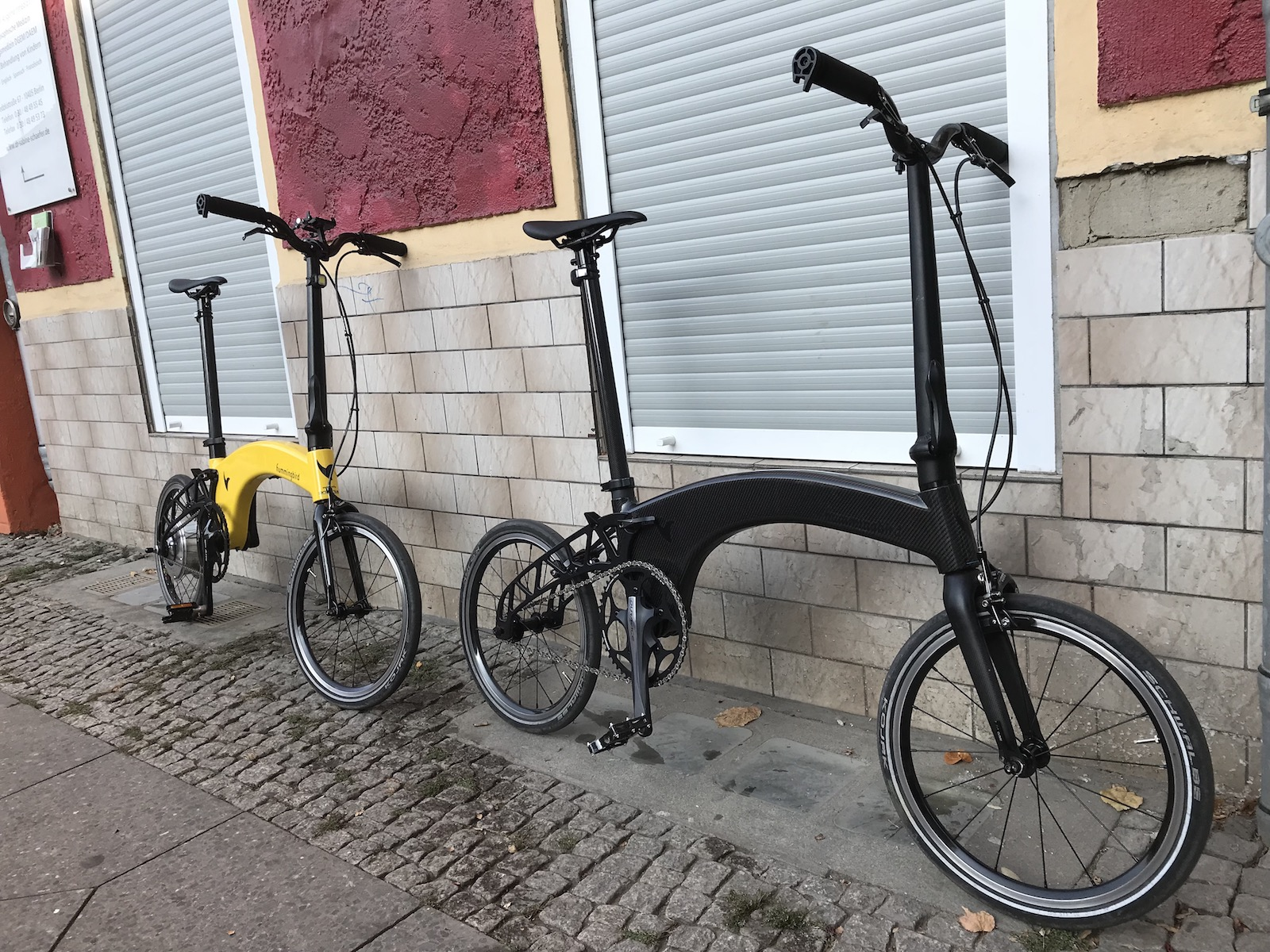 Boxbike Faltrad Shop Hummingbird Folding Bike Vorstellung 2