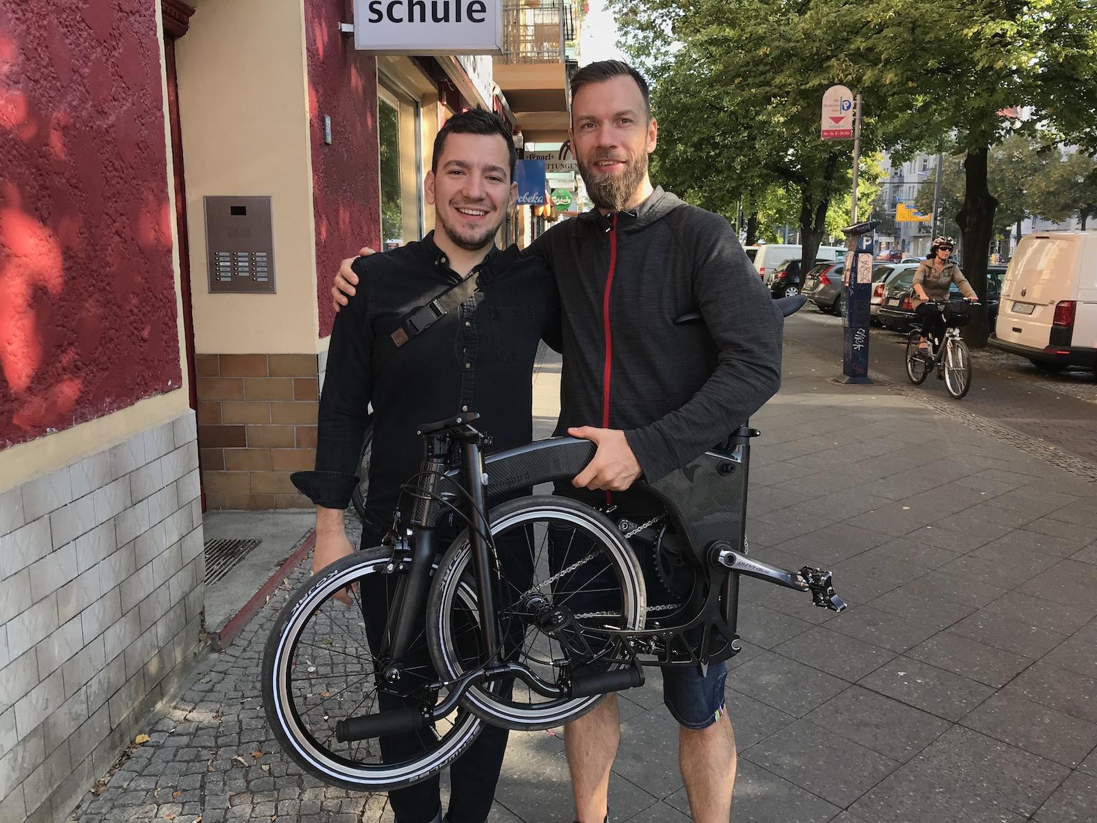 Boxbike Faltrad Shop Hummingbird Folding Bike Vorstellung 4
