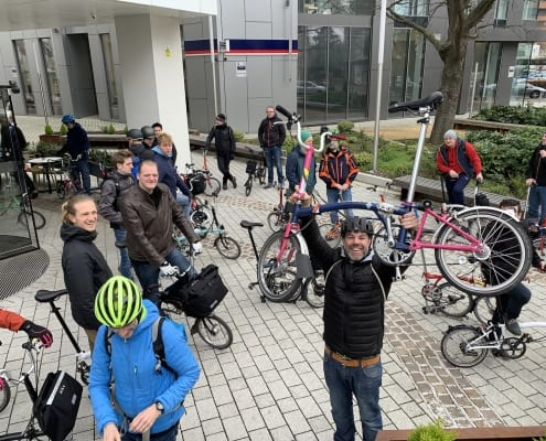 Brompton Dealer Day Und Factory Visit Boxbike Faltrad Shop Berlin 40