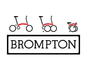 Brompton Falträder Logo