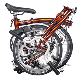 Brompton 2019 Flame Lacquer