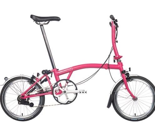 Brompton 2019 Hot Pink
