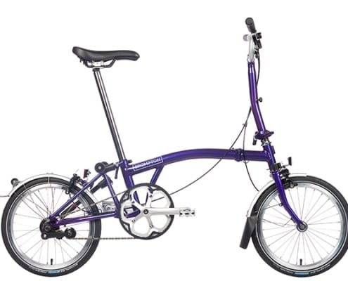 Brompton 2019 Purple Metallic