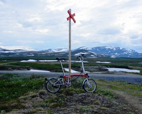Brompton Tour Skandinavien / Hochebene der Vildmarksvägen in Schweden