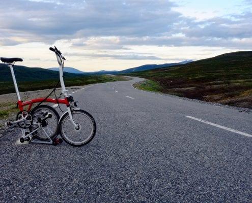 Brompton Tour Skandinavien / Vildmarksvägen in Schweden