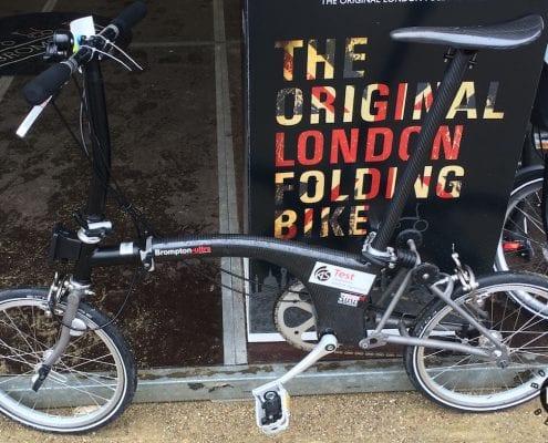 Das Brompton Ultra Concept Bike