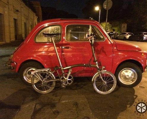 Brompton Tour Italien - Rom