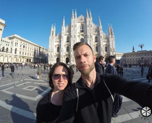 Brompton Tour Italien - Mailand