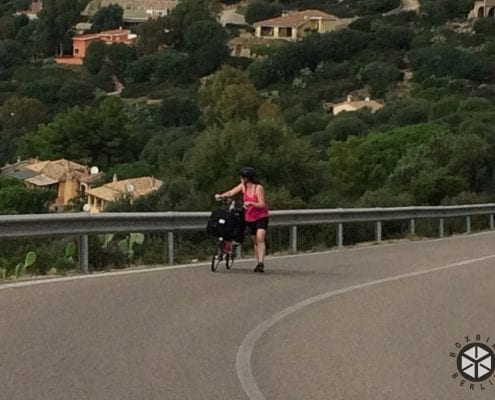 Brompton Tour Italien - Costa Rei