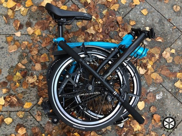 Brompton Black Edition 2016 lagoon blue