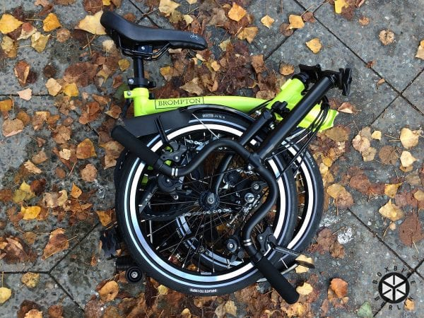 Brompton Black Edition 2016 Lime Green