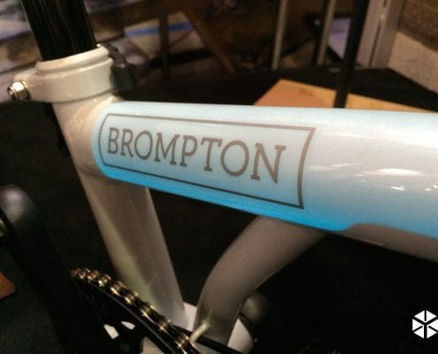 Brompton Light Up Faltrad Special Edition