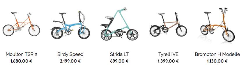 der Faltrad Katalog von BOXBIKE Berlin