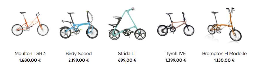 Unser Faltrad Katalog - und die Sache mit dem Online-Shop