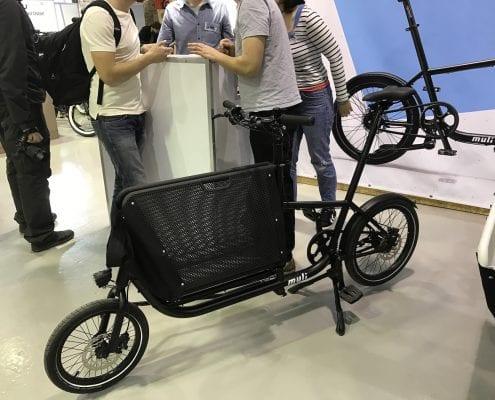 Berliner Fahrradschau 2017 Highlights Muli Cycle Cargobike
