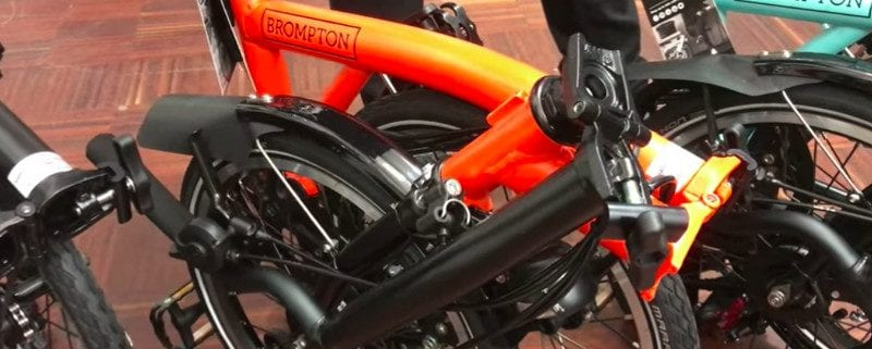 Brompton Black Edition 2018 orange turkish green Falträder