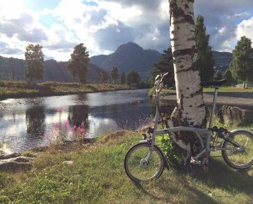 BOXBIKE Brompton Tour durch Skandinavien
