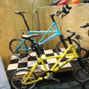 Das Tyrell FX und das FSX auf der Fahrradschau 2016 in Berlin