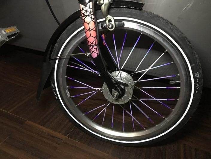 Boxbike X Happareal Custom Made Brompton Reflective