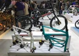 Boxbike Faltrad Shop Berlin Taipei Cycle Show Birdy Neuheiten Rplus New Classic Titan 1