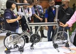 Boxbike Faltrad Shop Berlin Taipei Cycle Show Birdy Neuheiten Rplus New Classic Titan 13