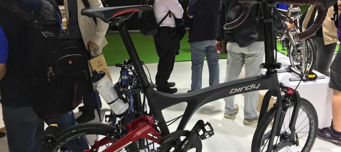Boxbike Faltrad Shop Berlin Taipei Cycle Show Birdy Neuheiten Rplus New Classic Titan 4