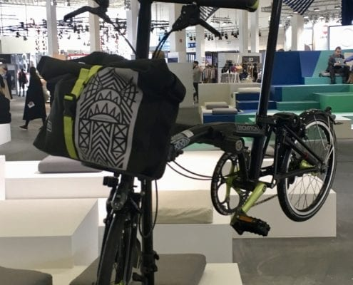 Brompton New York Edition - Folding Bikes auf der Fashion Messe Panorama Berlin