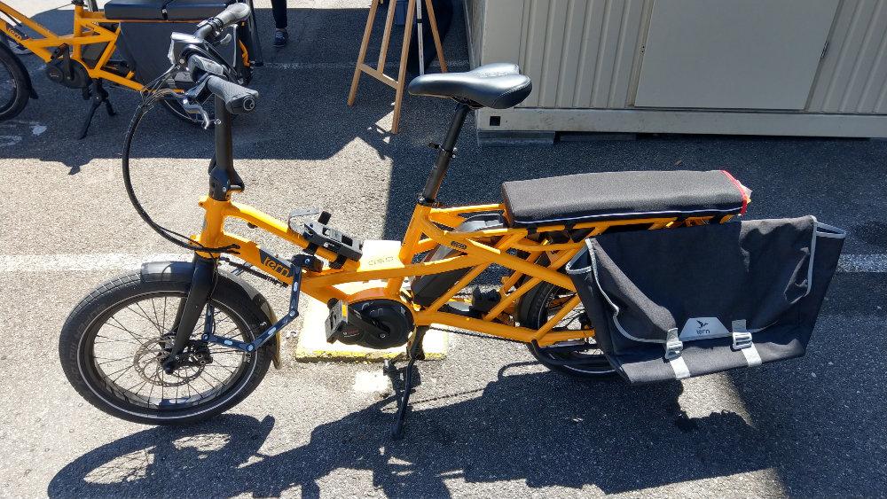 Boxbike Faltrad Shop Eurobike 2018 Tern Gsd