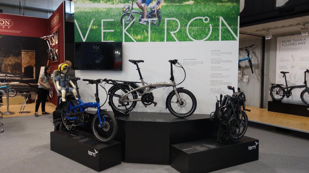 Boxbike Faltrad Shop Eurobike 2018 Tern Vektron