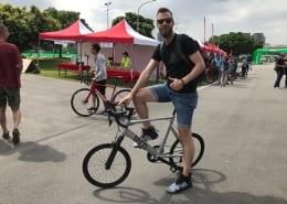 Boxbike Faltraeder Taipei Cycle Show Tern Surge Pro Test
