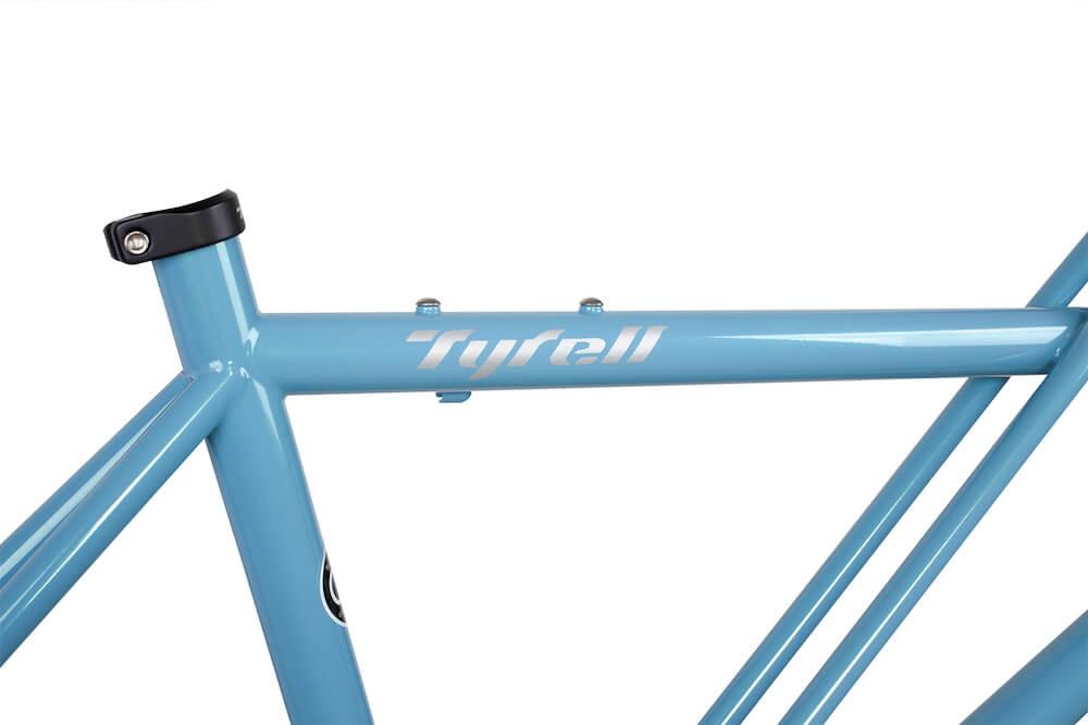Tyrell Bike Deutschland Cx Blau Detail